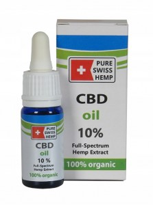 Olej CBD 5% Organic 10ml SWISS MADE