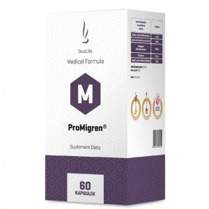 DuoLife Medical Formula ProMigren - 60 kapsułek