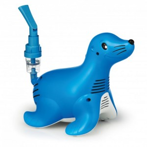 Inhalator Philips Respironics Sami the Seal + SÓL FIZIOLOGICZNA