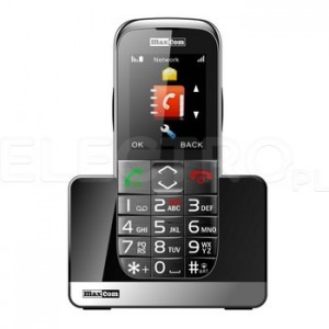Telefon dla seniora MAXCOM MM 720 BB