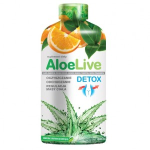 AloeLive Detox suplement diety - 1000 ml